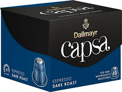 Dallmayr Kaffee Capsa Espresso Dark Roast Kaffeekapseln, 5er Pack (5 x 56 g)