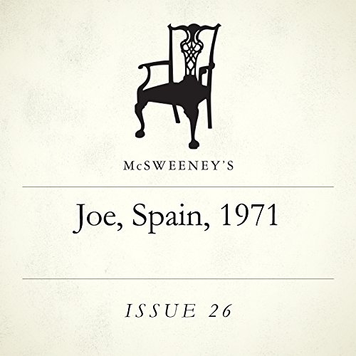 Joe, Spain, 1971 audiobook cover art