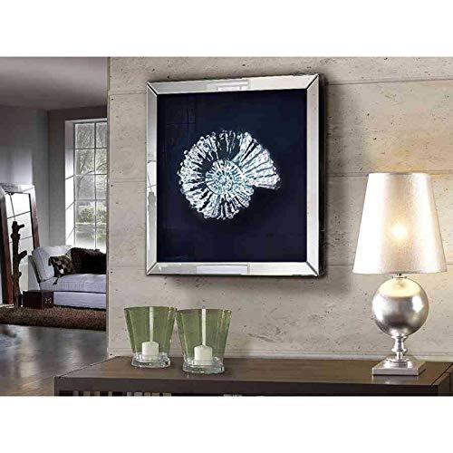 Cuadro Decorativo con marco de espejo : Modelo FOSIL
