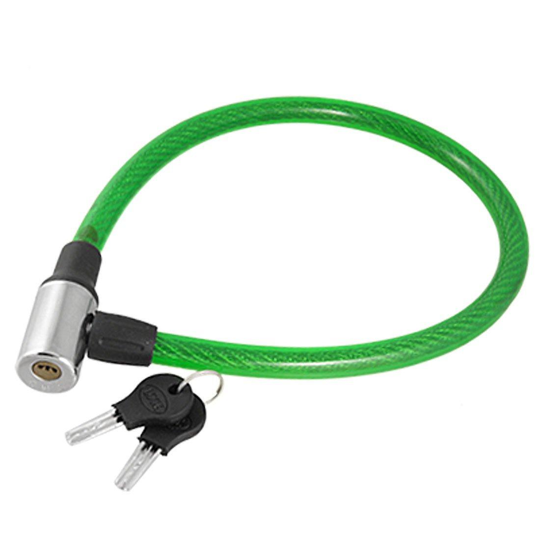 Verde de plástico cubierta de alambre de acero para cable de ...