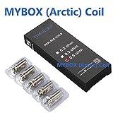 Résistance Cigarette Electronique, THORVAP MYBOX 40W Resistance Cigarette électronique (Pack de 5), No E Liquide, sans Nicotine ni Tabac