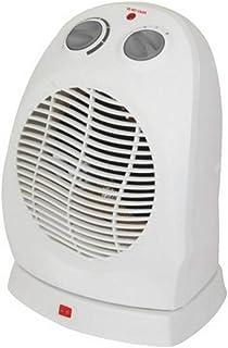 DZSF Ventiladores eléctricos calefactores oscilantes Verticales de 220V para el hogar Termostato Ajustable Calentador eléctrico de Escritorio con Calentador de Invierno eléctrico