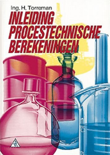 Inleiding procestechnische berekeningen
