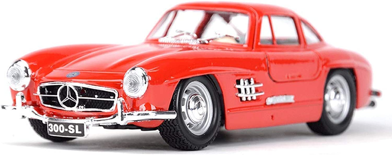Maisto 1 24 Mercedes  Mercedes 300SL Simulation Original Alloy Car Model Sports Car Model Gift Collection Collection Scale Model Simulation Vehicle ( color   Red )