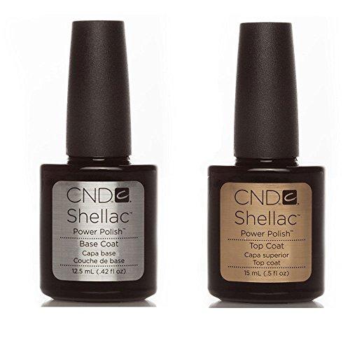 CND Shellac Vernis à ongles Base, Top et Xpress5 – Disponible en petites et grande tailles