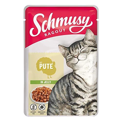 Schmusy Ragout mit Pute in Jelly 100g (Menge: 22 je Bestelleinheit)