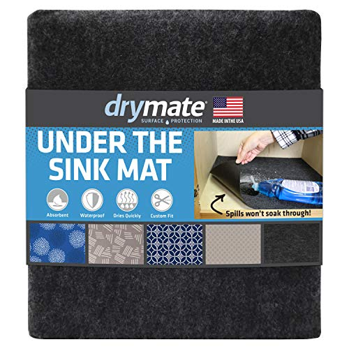 "Drymate Premium XL Under The Sink Mat (24"" x 59""), Cabinet Protection Mat, Shelf Liner -..."