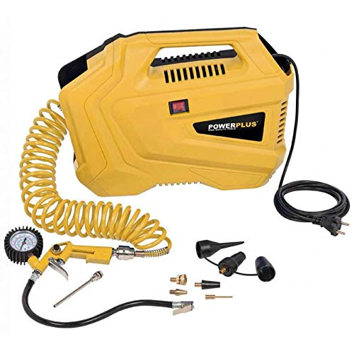 PowerPlus Compresseur Portable-1100 W...