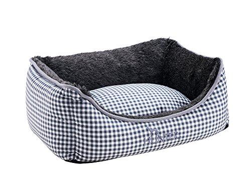 HUNTER Astana Perro sofá con Peluche, Cuadros, 80 x 60 cm,