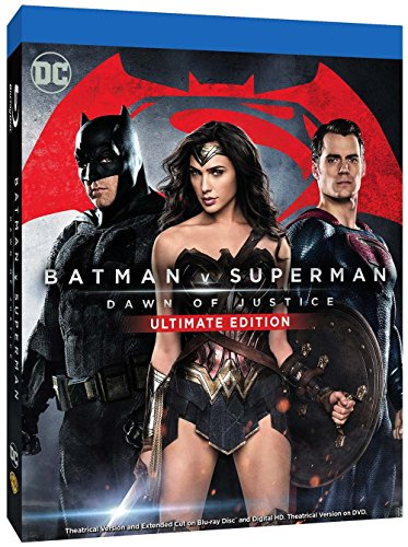 Batman V Superman: Dawn of Justice (Ultimate Edition) (2 Blu-Ray)
