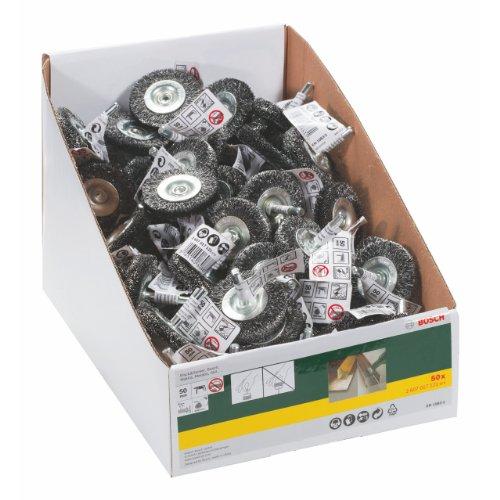 Bosch 2607017121 - Cepillo circular de alambre ondulado (50 x 12 mm)
