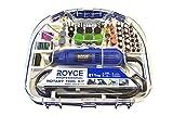 Kit mini trapano 211 pezzi smerigliatrice rotante 300W punte frese Royce RMG-300