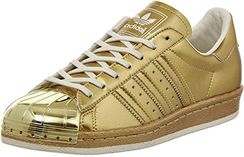 adidas Superstar 80s Metallic Pack, Gold metallic-Gold metallic-Off White, 9