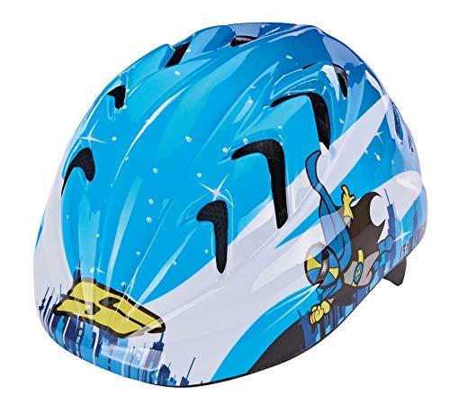 Prophete Unisex Jugend Kleinkinder-Fahrradhelm, Größe: 44-48 cm, blau, TÜV/GS Zertifiziert Kinder