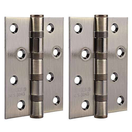 Bisagras de la puerta Engrosamiento Bisagra de acero inoxidable Pin flojo Silenciador...