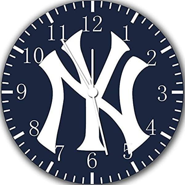 Borderless Yankees Frameless Wall Clock W100 Nice For Decor Or Gifts