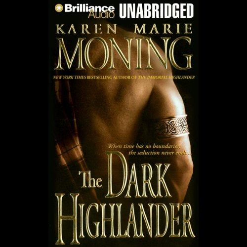 The Dark Highlander audiobook cover art
