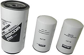 Kit Filtros Cummins Volkswagen 9150 9150e 17250ct 24250ct Filtro Lubrificante Diesel Racor Rck40026ra