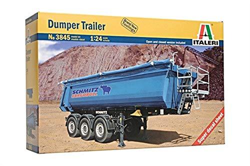 Italeri 510003845 - 1:24 Muldenkipper-Anhänger