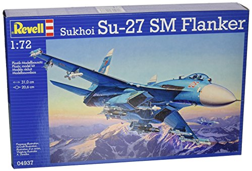 Revell/Monogram Germany Sukhoi Su-27 SM Flanker Model Kit (1/72 Scale)