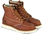 Thorogood 804-4200 Men's American Heritage 6' Moc Toe, MAXwear Wedge Safety Boot, Tobacco Oil-Tanned - 10.5...