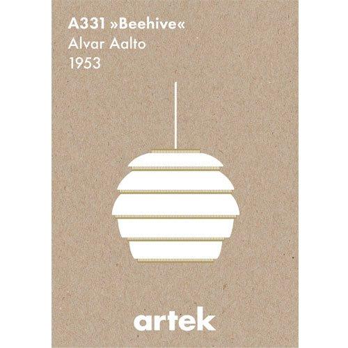 北欧 artek アルテック アイコン ポスター Beehive ビーハイヴ