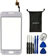 sunways Touch Digitizer Glass Lens Screen Replacement for Samsung Galaxy J1 J100 with Device Opening Tools(White)