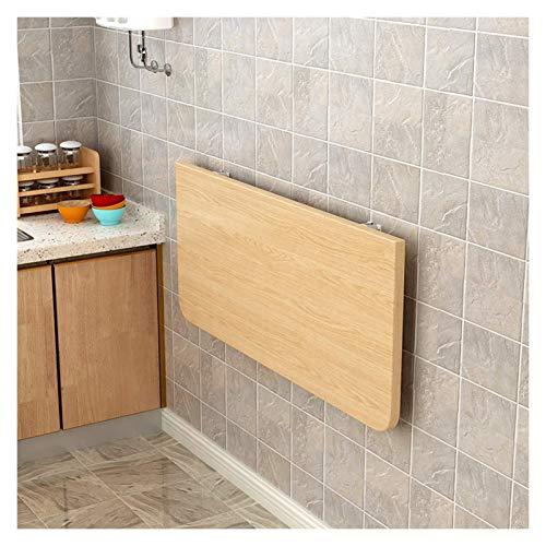 GLF Escritorios flotantes para espacios pequeños, mesa de comedor plegable resistente para lavandería en el hogar (color: A, tamaño: 70 x 40 cm)