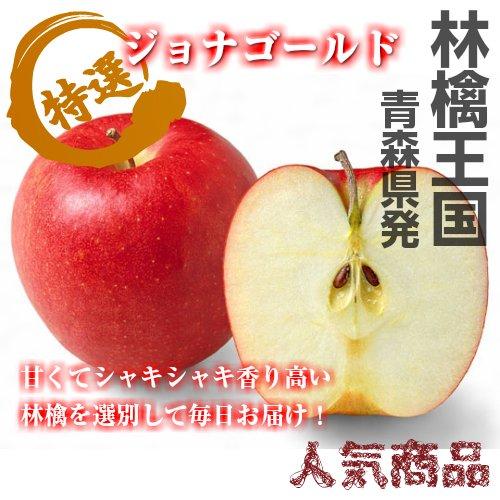 【シャキッと爽やか太陽の恵!】 青森県産 秀品 ジョナゴールド 10kg