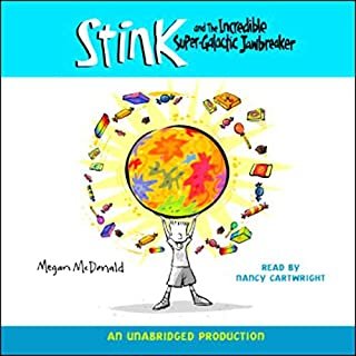 Stink and the Incredible Super-Galactic Jawbreaker cover art