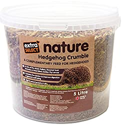 A delicious chicken based food for hedgehogs of all ages. Its packed with nutrition and can be served on its own. Fed regularly it will encourage visits to your garden all year round. Model number: 07ESH04