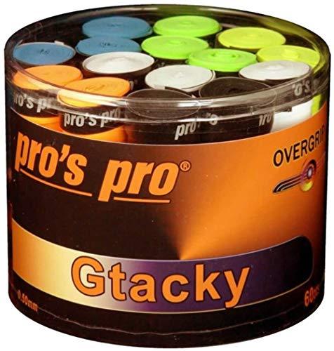 Pro 60 Pros Griffbänder Tennis Overgrip Gtacky bunt