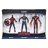 Marvel Avengers - Multipack Legends, 3 Figuras, 15 cm (Hasbro B8215EU4)