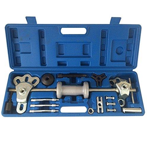 SUNROAD 9 Way Slide Hammer Puller Set Axle Bearing Dent Hub 2 3 Internal External Gear Puller Set