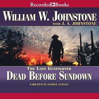 Dead Before Sundown audiobook cover art