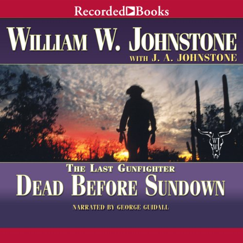 Dead Before Sundown audiobook cover art