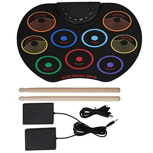 Drum Color Electronic Drum Exquisite für Leistung für Familienunterhaltung(Colorful models)