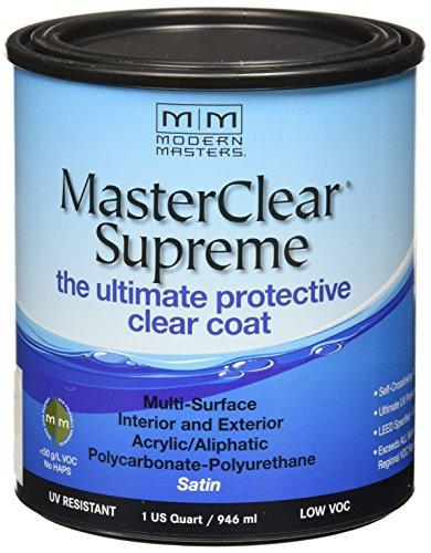 MODERN MASTERS MCS90232 Clear Coat Satin