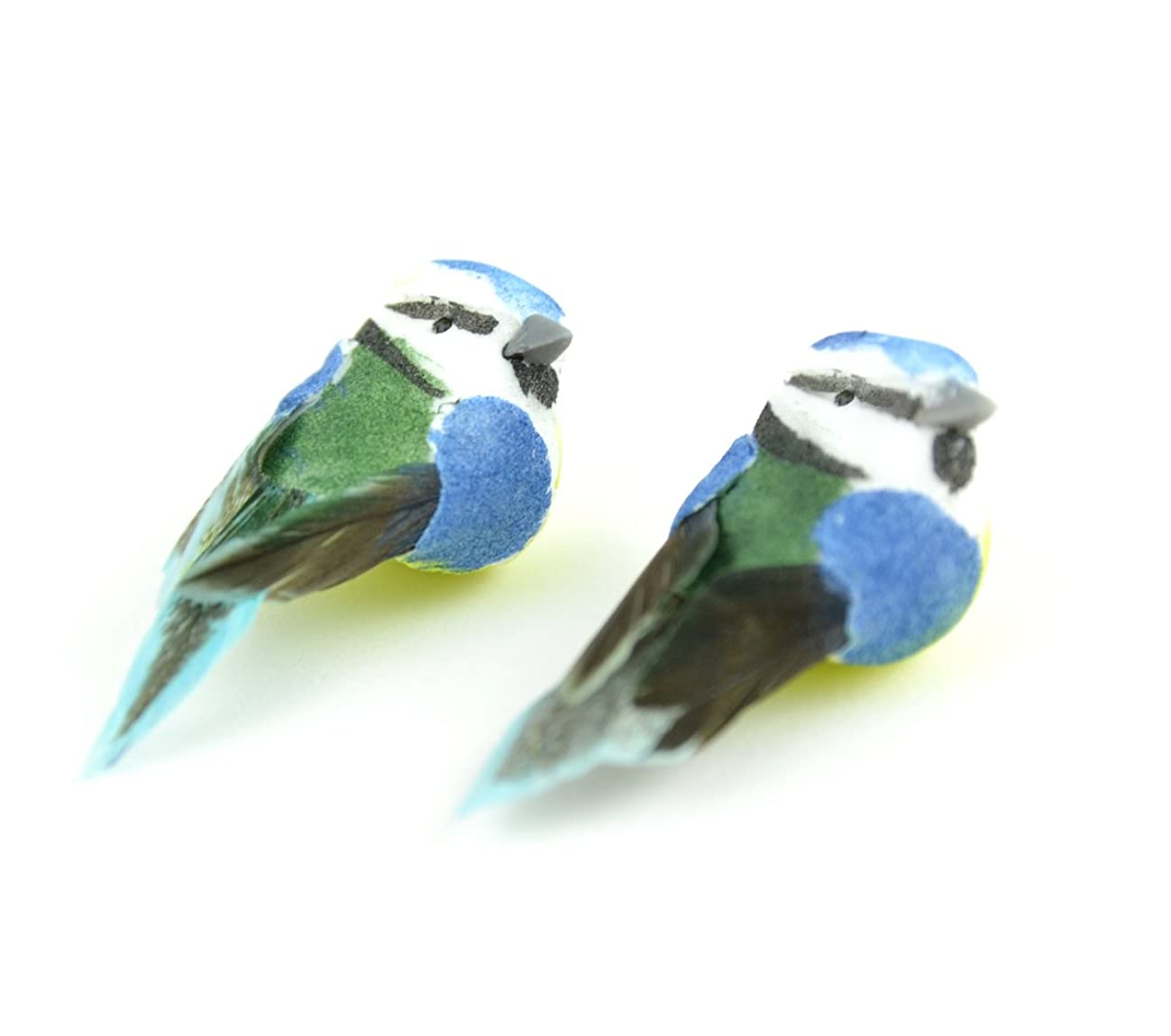 Touch of Nature Mini Blue Tit Birds 1.25inch, 2pc, 3 Piece