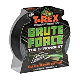 T-Rex 242703 Brute Force Strongest High Performance Duct Tape, 1.88-Inch x 25-Yard, Black