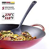 Westmark Gemüse-/Wok-/Kochlöffel, Hitzebeständig bis 270 °C, PPA, Länge: 31,5 cm, Gentle Plus, Schwarz, 28652275