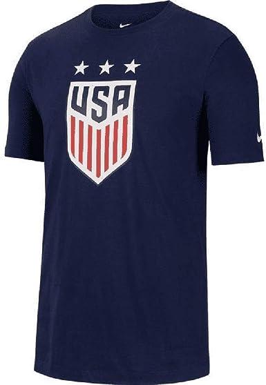 Nike Mens USA Soccer Crest Tee