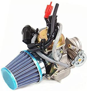 Carburetor & Air Filter for Hammerhead Twister American SportWorks Carbide 150cc Go Kart ATV PD24J+ filter