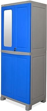 Nilkamal Deep Blue Plastic Freedom FB1 Cabinet