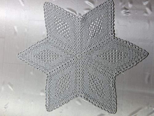 Häkeldeckchen Stern Deckchen Weihnachtsstern Geschenk