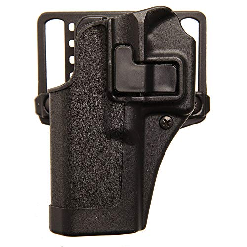 BLACKHAWK Serpa CQC Concealment Holster for Glock 43, Matte Black, Right Hand - 410568BK-R