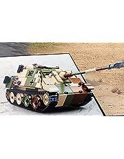 WW2 byggstenar stridsvagnar jaktpansar V Sd. Auto 173 inkl. 3 minifigurer soldater