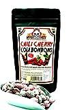 Chili Cherry Cola Bonbons - Cola trifft Kirsche & Chili - mega scharf - 200g - Hotskala: 9 -