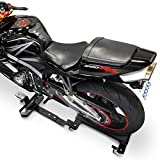Venom Motorcycle Mover Dolly Cruiser Side Stand for Yamaha V-Star 1100 1300 Classic Stryker Silverado