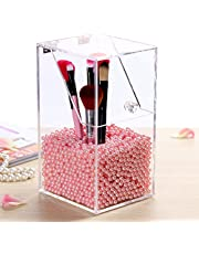 1300 unidades/bolsa de perlas artificiales de decoración para organizador de brochas de maquillaje